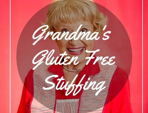 Crimini Mushroom Gluten Free Stuffing