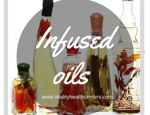 Infused Oils for Homemade Holiday Gifts