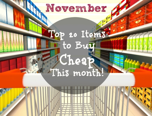 November is the best time to buy…